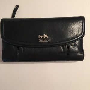 Coach Madison checkbook wallet